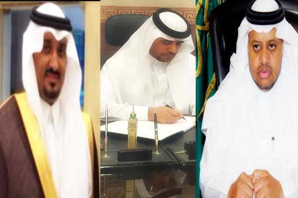 عبدالله بن أحمد الثقفى - على الجالوق - فايز الأحمدى