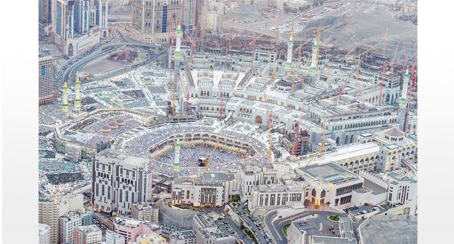 في أكبر إنجاز في تاريخ المسجد الحرام خادم الحرمين دشن 5 مشروعات للتوسعة السعودية الثالثة أرشيف صحيفة البلاد